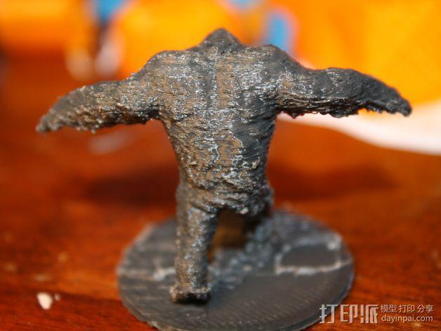 泥面人 3D模型  图4