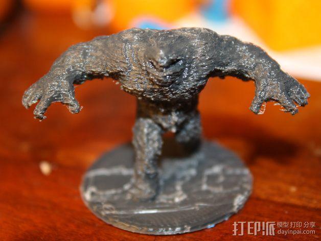 泥面人 3D模型  图3