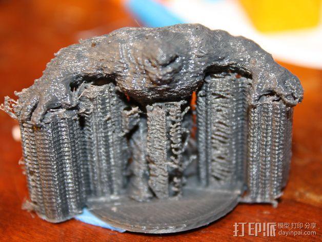 泥面人 3D模型  图6
