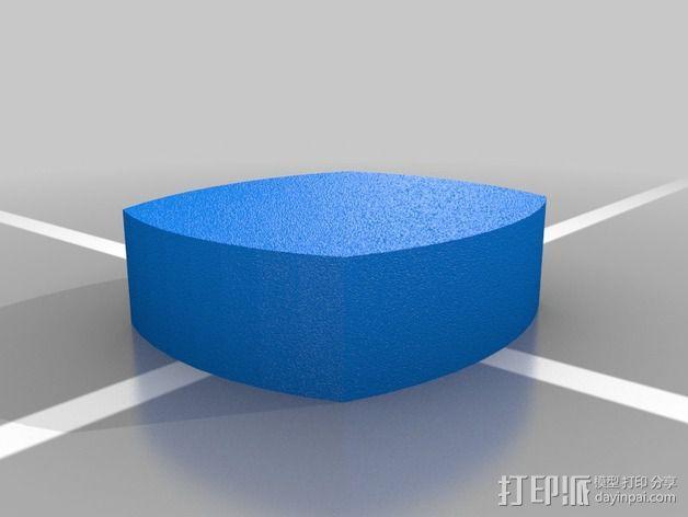 美国迪尔公司 标志 3D模型  图1