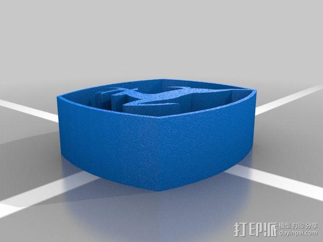 美国迪尔公司 标志 3D模型  图2