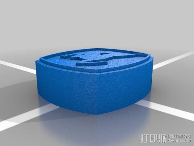 美国迪尔公司 标志 3D模型  图3