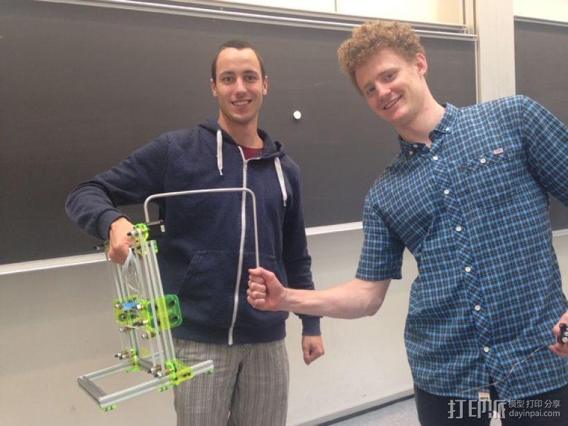 迷你发泡胶切割机 3D模型  图3