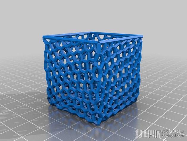 镂空小盒 3D模型  图2