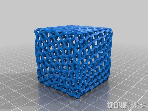 镂空小盒 3D模型  图3