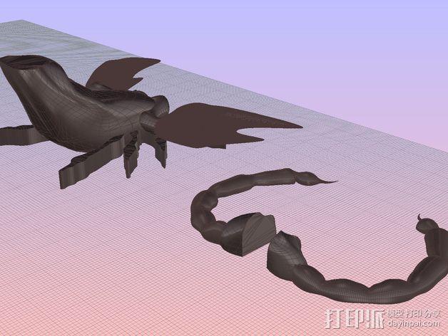 蝎子 3D模型  图5