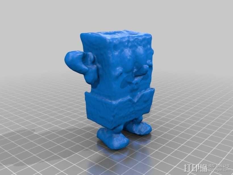 海绵宝宝 3D模型  图2