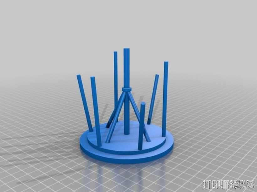 飞机螺旋桨  3D模型  图2