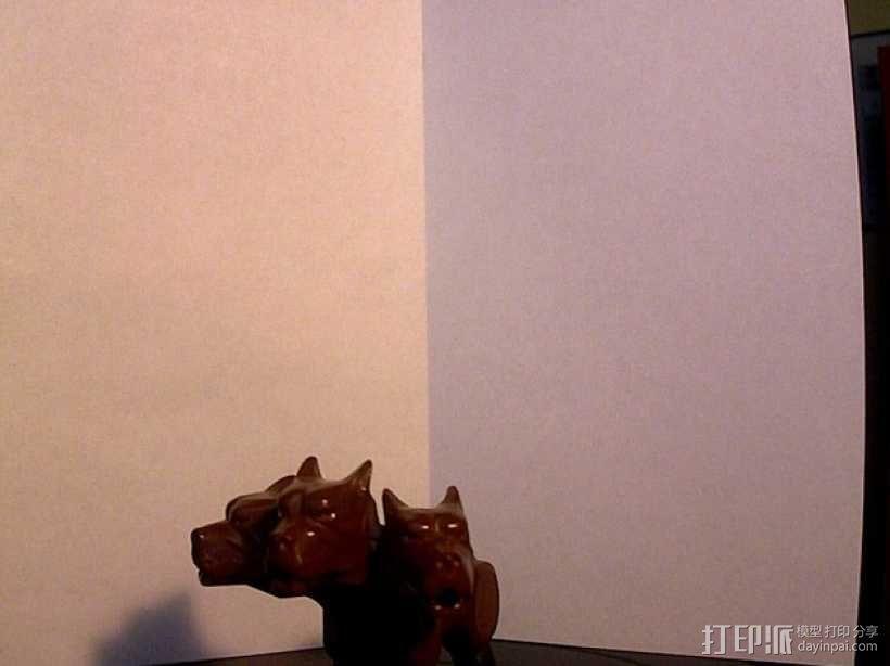 《哈利波特》三头犬 3D模型  图1