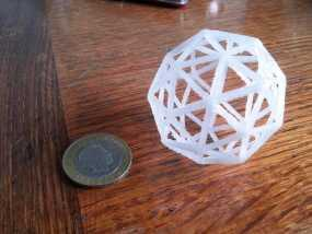 五角化十二面体 3D模型