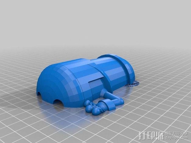 小黄人 3D模型  图4