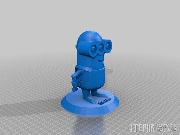 小黄人 3D模型  图5