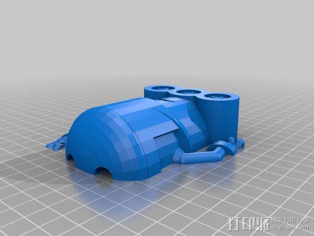 小黄人 3D模型  图6