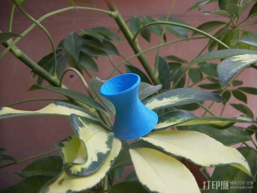 直纹曲面 迷你花瓶 3D模型  图1
