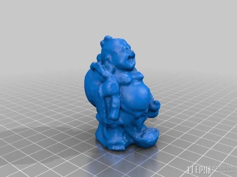 佛像 3D模型  图2