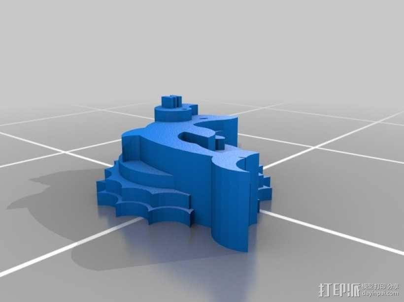 海豚 3D模型  图1