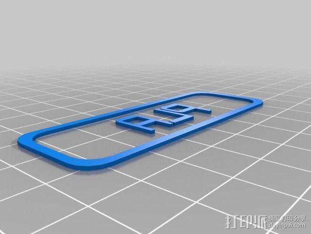 定制化标签 3D模型  图3