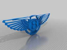 宾利 Logo 3D模型