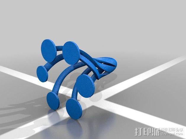 线圈 3D模型  图3