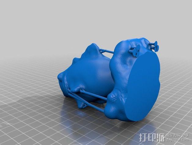 鱼儿 3D模型  图3