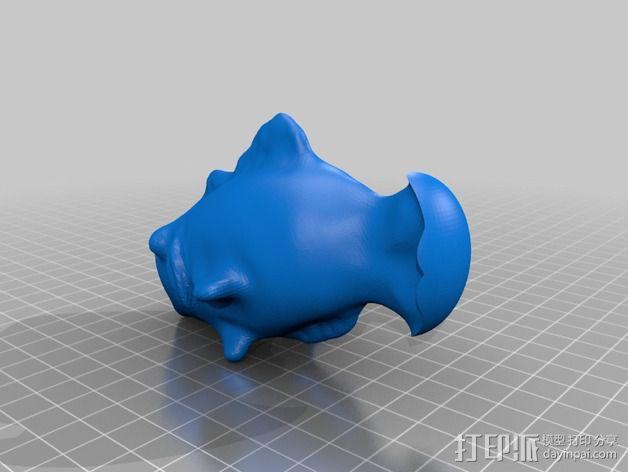 鱼儿 3D模型  图5