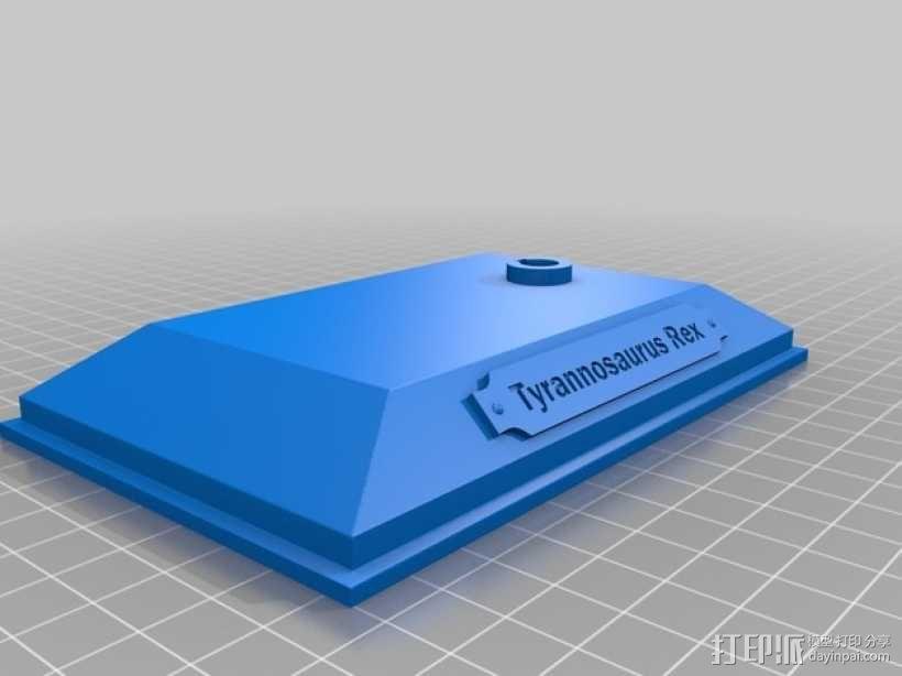 会发光的霸王龙头骨 3D模型  图4
