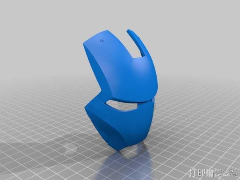 钢铁侠&霸王龙 3D模型  图1