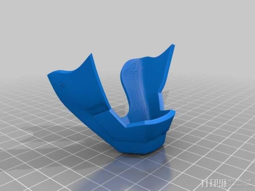 钢铁侠&霸王龙 3D模型  图2