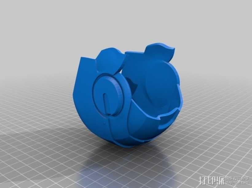 钢铁侠&霸王龙 3D模型  图3