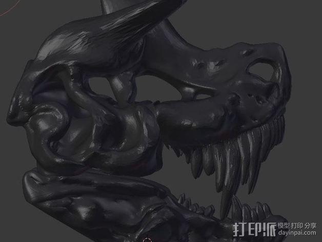 暴龙与地狱猎犬的结合 3D模型  图3