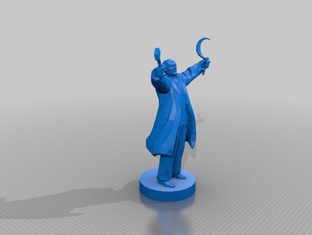 列宁 3D模型  图2