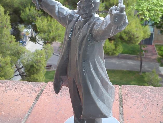 列宁 3D模型  图6