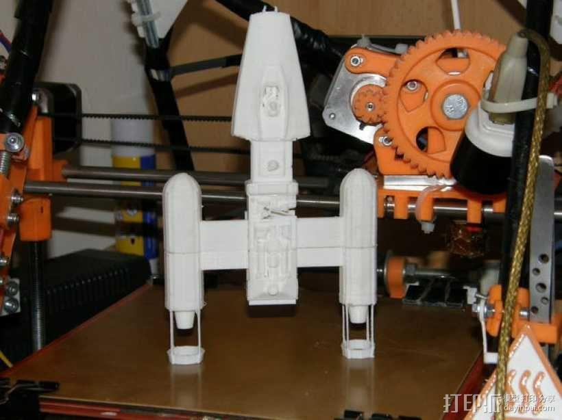 Y翼战斗机 3D模型  图1