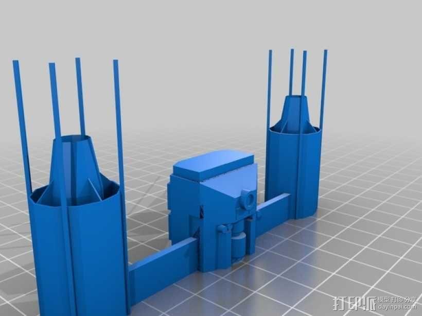 Y翼战斗机 3D模型  图6