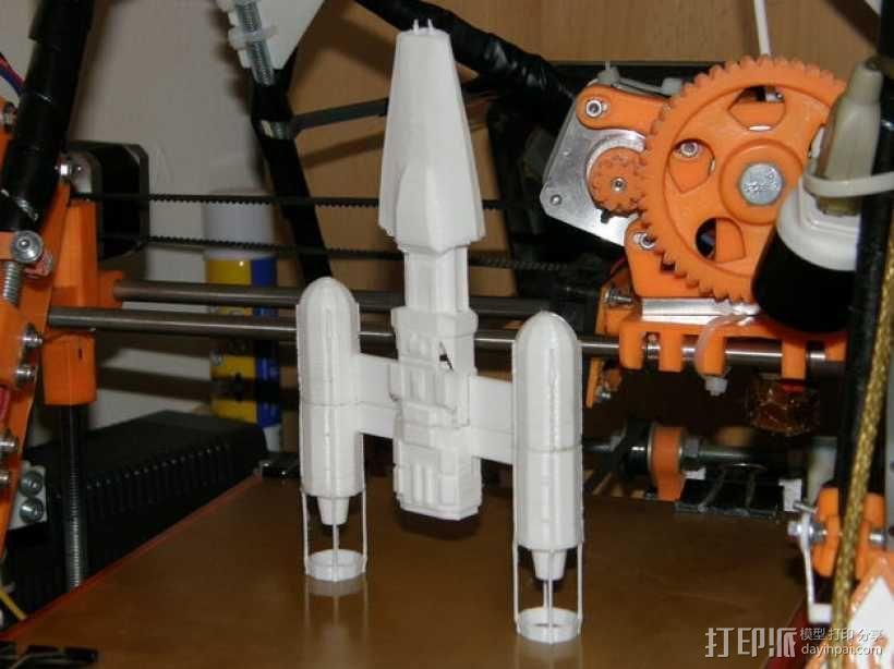 Y翼战斗机 3D模型  图7