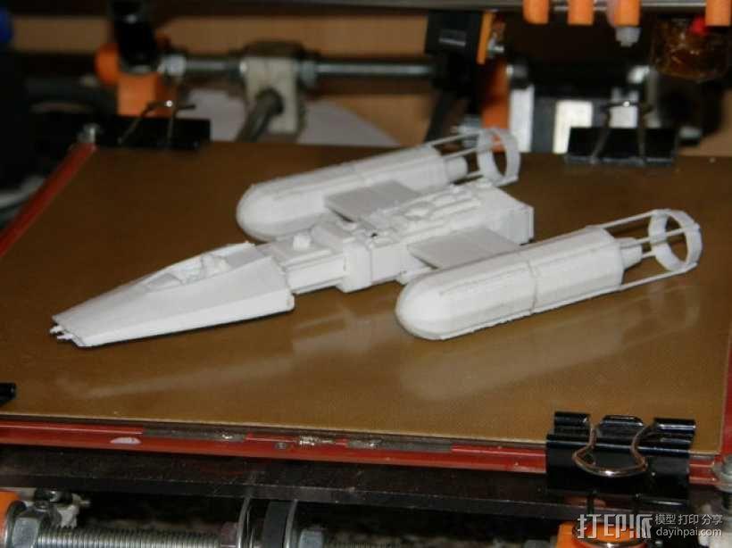 Y翼战斗机 3D模型  图8