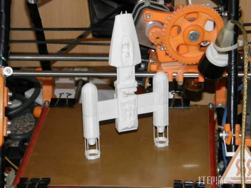 Y翼战斗机 3D模型  图9