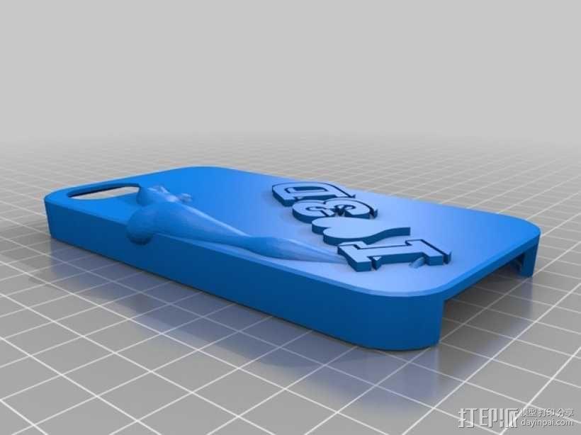 iPhone 43D手机壳 3D模型  图1