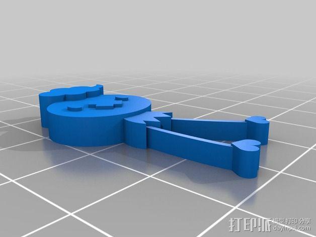 神奇宝贝:飘飘球 3D模型  图2