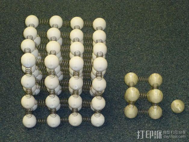 小球 立方体 3D模型  图4