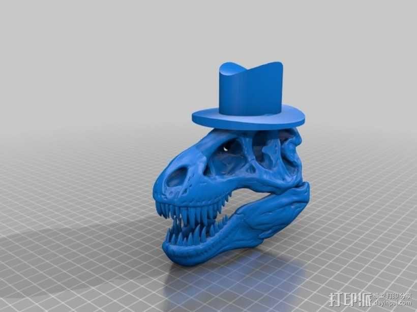 霸王龙 Harrison 3D模型  图2