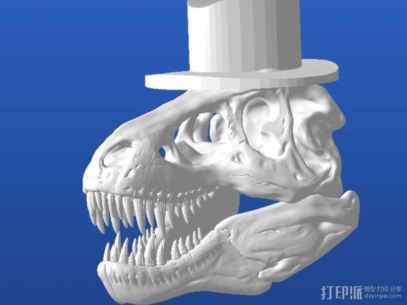 霸王龙 Harrison 3D模型  图1