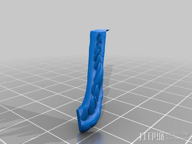 双色恐龙头骨 3D模型  图11