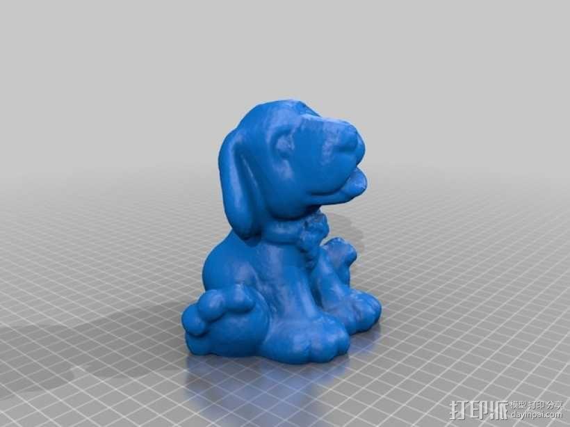 狗狗 3D模型  图1