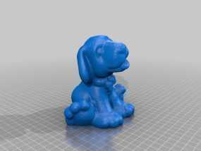 狗狗 3D模型