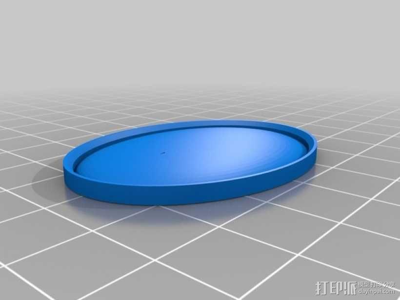 《星际迷航》通信徽章 3D模型  图3