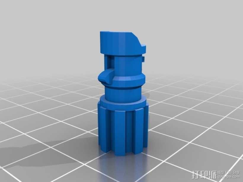光剑 调酒棒  3D模型  图7