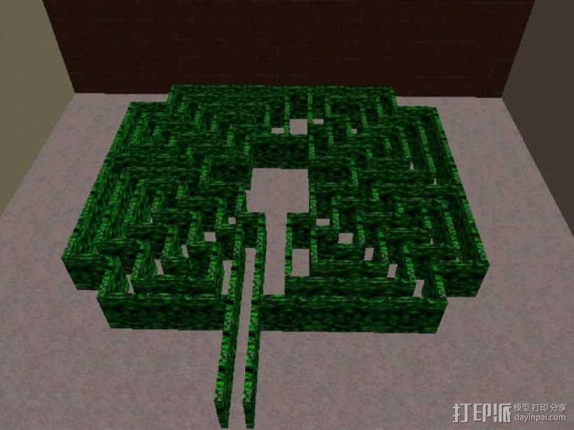 迷宫 3D模型  图1