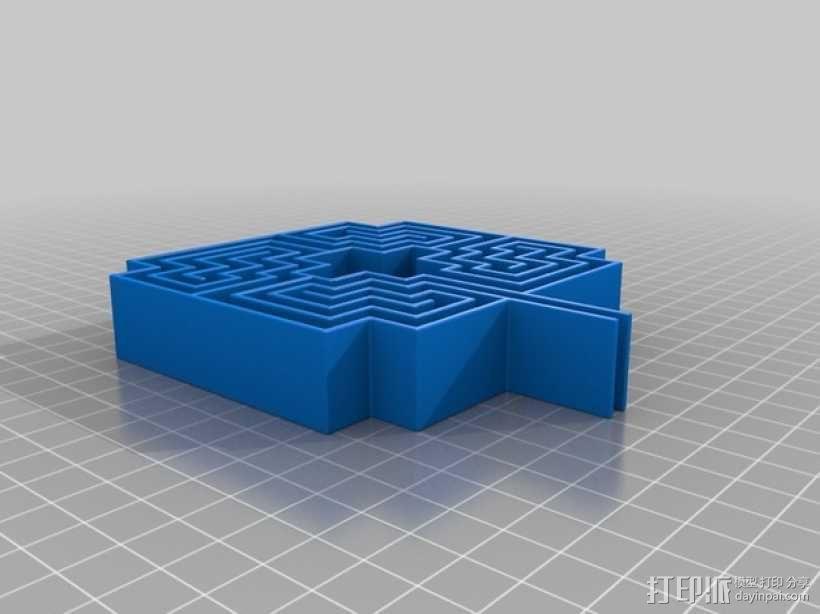 迷宫 3D模型  图2