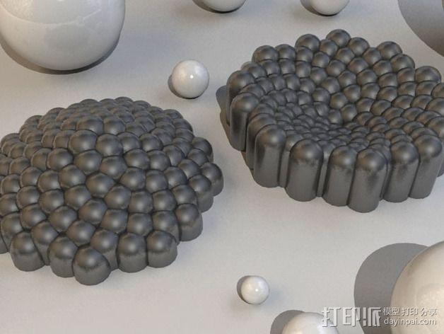 费马螺线 装饰品 3D模型  图4
